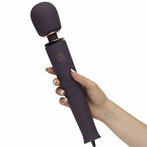 Фиолетовый вибратор Fifty Shades Freed Awash with Sensation Mains Wand Vibrator